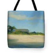 Hamptons Beach House Tote Bag