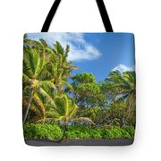 Hana Palm Tree Grove Tote Bag by Inge Johnsson