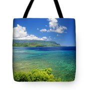 Hanalei Bay And Bali Hai Tote Bag