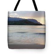 Hanalei Bay Evening Tote Bag