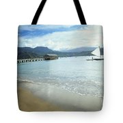 Hanalei Bay Outrigger Tote Bag