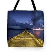 Hanalei Blue Tote Bag