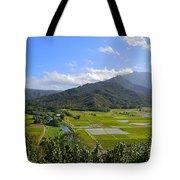 Hanalei River Overlook In Kauai Tote Bag