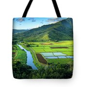 Hanalei Valley Tote Bag by Inge Johnsson
