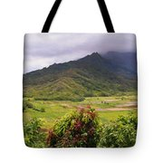 Hanalei Valley Panorama Tote Bag