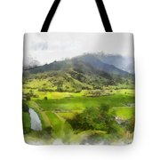 Hanalei Valley Tote Bag