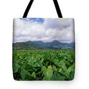 Hanalei Valley Taro Field Tote Bag