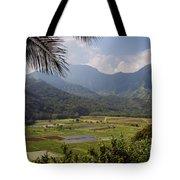 Hanalei Valley Taro Fields - Kauai Tote Bag