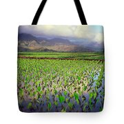 Hanalei Valley Taro Ponds Tote Bag