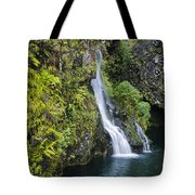 Hanawai Waterfall Tote Bag