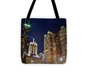 Hancock From The Beach Tote Bag