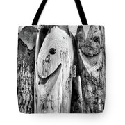 Hand Carved Fish Sculptures B Tote Bag