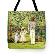 Hand In Hand Tote Bag by Linda Simon