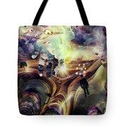 Hand Of God Tote Bag