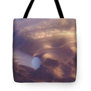 Hand Of God In Colorado Sky  Tote Bag