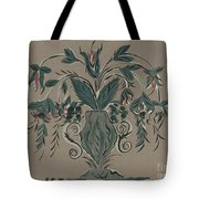 Hand Painted Wall Tote Bag
