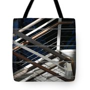 Hand Rails Tote Bag