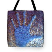 Hand That Giveth Tote Bag