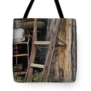 Hand Truck Of The Past Tote Bag