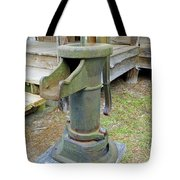Hand Water Pump Tote Bag