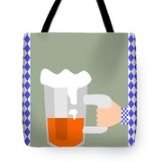 Hand With Beer Tote Bag