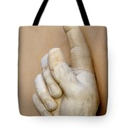 Hand With Pointing Index Finger. Statue Of Constantine. Palazzo Dei Conservatori. Capitoline Museums Tote Bag