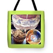 Handbuilt Clay Coiled Pots  Tote Bag