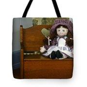 Handmade Cloth Doll Tote Bag