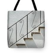 Handrail And Steps 2 Tote Bag