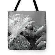 Hands Creating. Tote Bag