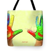 Hands In Art Tote Bag