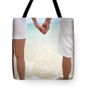 Hands Joined Tote Bag