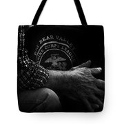 Hands Of A Marine Tote Bag