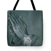 Hands Of An Apostle Tote Bag