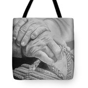 Hands Of The Master Tote Bag