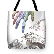 Hands Of The Masters Tote Bag