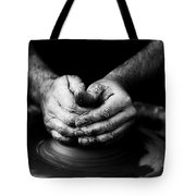 Hands That Form Tote Bag