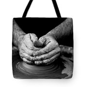 Hands That Shape Tote Bag