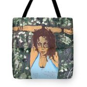 Hands Up Sketch V Tote Bag
