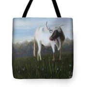 Handsome Longhorn Tote Bag
