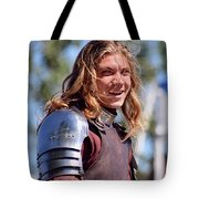 Handsome Knight Tote Bag
