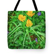 Handsome Threesome Tote Bag