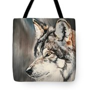 Handsome Wolf Tote Bag
