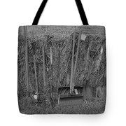 Handtools Bw Tote Bag