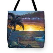 Hang Loose Harbor Tote Bag