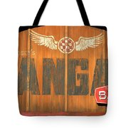 Hangar Bar Entrance Sign Tote Bag