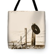 Hangin Around Montana Tote Bag