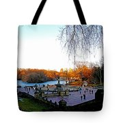 Hangin' At Bethesda Fountain Tote Bag