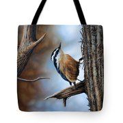 Hangin Out - Nuthatch Tote Bag