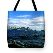 Hangin With Mermaids Tote Bag